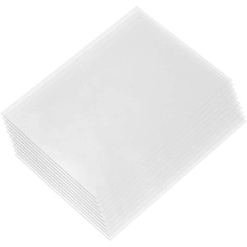 Haude 10 Pieces of FEP Sheet Photon 3D Printer 0.1mm Fep Film 280mm x 200mm for 3D Printer Parts Accessories