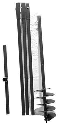 MWS-Apel 200 mm 4 Meter Erdbohrer Brunnenbohrer Handerdbohrer Erdlochbohrer Brunnenbau Pfahlbohrer brunnenbohrgerät