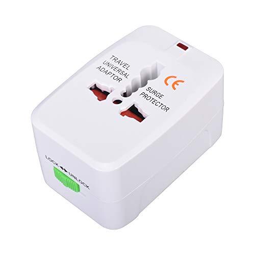 Adaptador de enchufe del Reino Unido, adaptador de corriente multifunción, adaptador de enchufe de alimentación con obturador de seguridad
