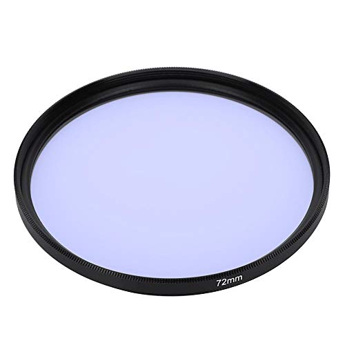 Lente de filtros, Lente de cámara de Filtro Nocturno de Vidrio óptico de reducción de contaminación lumínica de 72 mm Filtros para Cielo