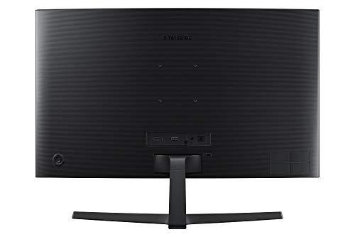 Samsung C27F398FWU, Ecran PC Incurvé, Dalle VA 27'', Résolution Full HD (1920 x 1080), 60 Hz , 4ms, AMD FreeSync, Noir Brillant