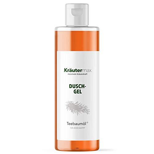 Teebaumöl Duschgel auch als Shampoo Kosmetik Naturrein mit Teebaum Extrakt 1 x 250 ml