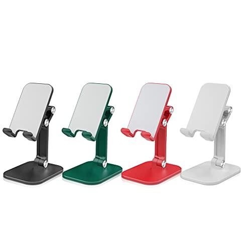unknows Soporte de escritorio para tableta, soporte de escritorio plegable para teléfono móvil para iPad altura ajustable