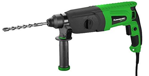 Kawasaki Bohrhammer, 620 Watt, mit Koffer, Schlagzahl 5500