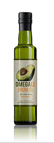 Extra Virgin, Gourmet Dressing  Cooking Avocado Oil by Omegali