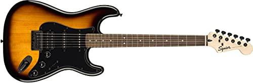 Squier FSR Bullet® Stratocaster® HT HSS, Laurel - Tabla de dedo, 2 colores Sunburst con hardware negro