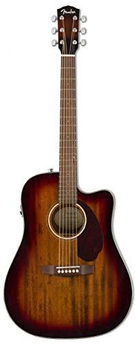 Fender CD-140SCE Dread AM SEB w/case