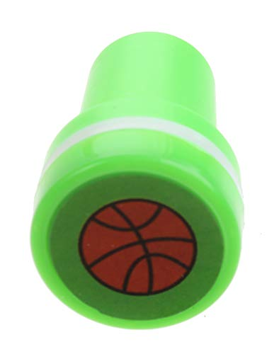 LG-Imports Sello de baloncesto, verde/blanco