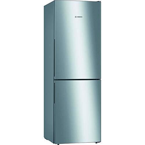 Bosch KGV33VLEAS – koelkast met vriesvak onderaan, vrijstaand, 288 l – gezette koeling – L 60 cm x H 176 cm – roestvrij staal