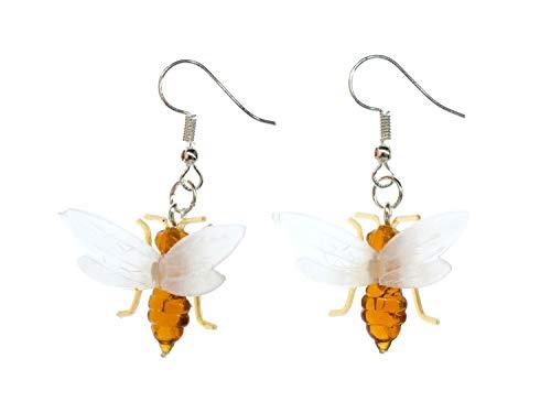 Fliegende Ameise Biene Ohrringe Miniblings Tier Insekt Honig Flügeltier Hänger