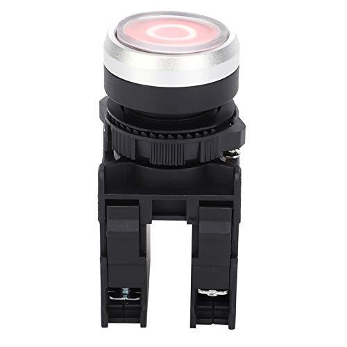 Qqmora Interruptor de botón pulsador de Arranque Verde Resistente al Agua Suministros...