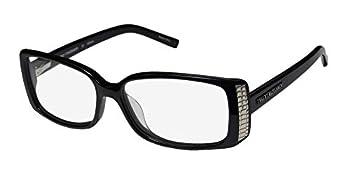 Trussardi 12704 Womens/Ladies Ophthalmic Celebrity Style Designer Full-rim Eyeglasses/Eyewear  54-14-135 Black
