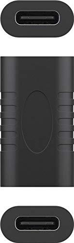 PremiumCord Kupplung USB-C 3.1, Super-Speed 5Gbps, USB 3.1 Typ C Buchse auf Buchse, Farbe schwarz