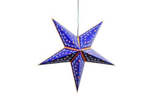 Small foot company Lampe étoile, Bleu foncé, Multicolore, NS