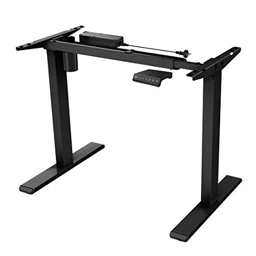EN1B Height Adjustable Electric Standing Desk Frame Two-Stage...