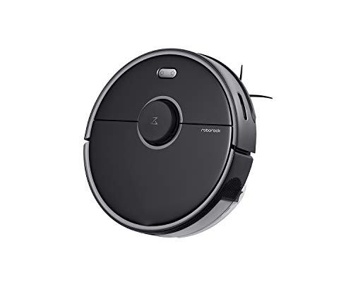 Roborock S5 MAX Robot Vacuum and Mop Cleaner, Self-Charging Robotic Vacuum, Lidar Navigation, Selective Room Cleaning, No-mop Zones, 2000Pa Powerful Suction, 180mins Runtime, Works with Alexa