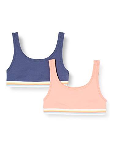 Schiesser Mädchen Multipack 2Pack Bustier, Mehrfarbig (Sortiert 1 901), (Herstellergröße: 152)