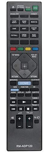 ALLIMITY RM-ADP120 Fernbedienung Ersetzt für Sony Blu-Ray Home Theater System BDV-N5200W BDV-N7200W BDV-N9200W