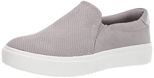 Dr. Scholl's Shoes Women's Wink Sneaker, Grey Cloud Microfiber Perforated1, 7.5 M US