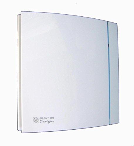 Envirovent Silencieux 100 Ht salle de bains hotte aspirante humidostat /& minuteur