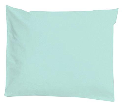 Taie d'oreiller imperméable et anti-acariens 40x60cm Morning Blue - Louis Le Sec