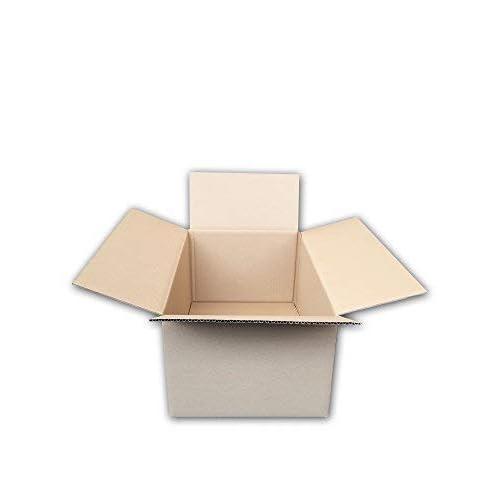 Pack de 20 Cajas de Cartón de Canal Simple y Color Marrón. Tamaño 44,