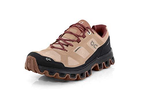 On Running W Cloudventure Waterproof Braun, Damen Laufschuh, Größe EU 38 - Farbe Rosebrown - Mulberry