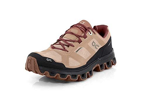 ON Cloudventure Waterproof Trail Running Shoe - Women's Rosebrown/Mulberry, 7.5