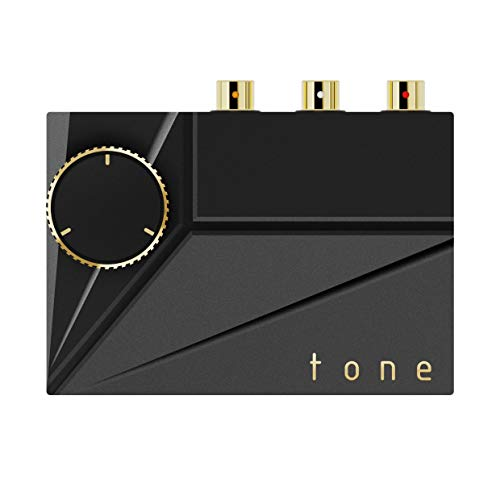 Khadas Tone 2 Pro MQA - Amplificador de auriculares portátil DAC (negro)
