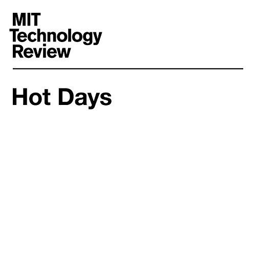 Hot Days audiobook cover art
