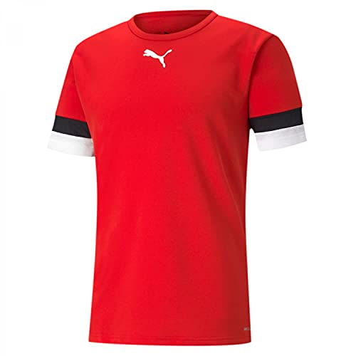 PUMA teamRISE Jersey, Puma Red-puma Black-puma White, XXL
