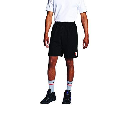 Champion Mens Classic Jersey Big C Logo Shorts