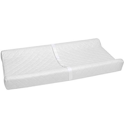 Big Oshi Contoured Baby Changing Pad - Waterproof Cover for Easy Wipe-Clean Cleaning - Changing Table Pad is Great for Babies, Newborns or Toddlers - Comfortable Foam, 32 x 16 Inch