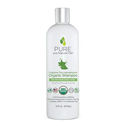 Pure and Natural Pet - Fragrance Free Hypoallergenic Organic Shampoo Fragrance Free 16 oz.