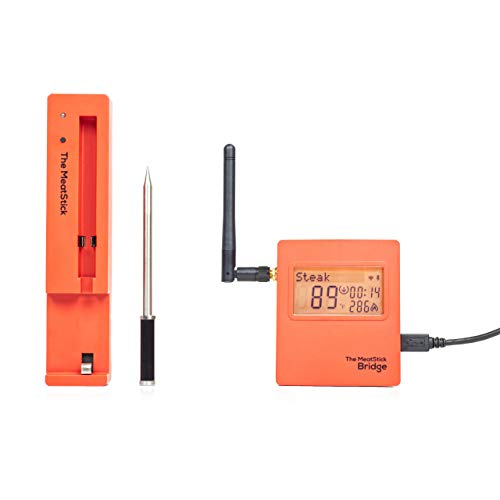 The MeatStick BR651 Set 3: mit WiFi Bridge, Ladegerät und Transporttasche