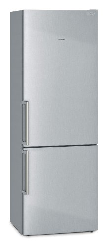 Siemens KG49EAI40 Kühl-Gefrier-Kombination / A+++ / Kühlen: 296 L / Gefrieren: 112 L / inox-antifingerprint / crisperBox / 2 Kühlkreisläufe