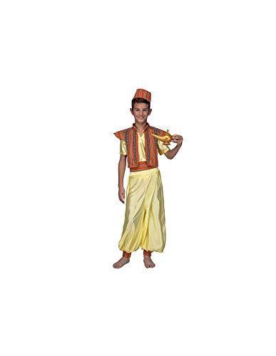 DISBACANAL Disfraz Aladn para nio - -, 7-9 aos