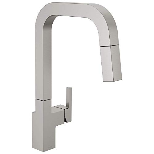 Delta Faucet Junction Kitchen Faucet with Pull Down Sprayer, Kitchen Sink Faucet, Faucets for...
