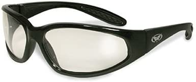 Global Vision hércules negro frame-clear objetivos, gafas de seguridad ansi z87.1 + gafas