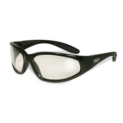Global Vision hercules black frame-cancella lenti per occhiali di sicurezza ansi z87.1 + eyewear
