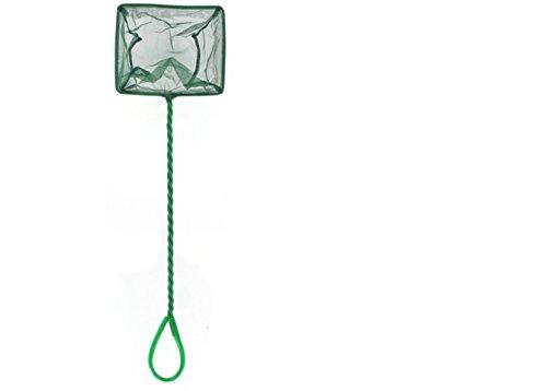 Unbekannt Aquarium-Netz Kescher 36cm, hochwertiges Fangnetz au reißfestem Nylon für Aquarien, Netzgroße 15 cm, ermöglicht das leichte und schonende Herausfangen von Fischen