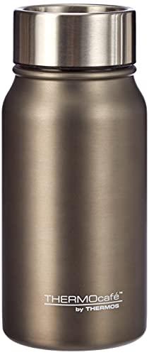 ThermoCafé TC Mug, Thermobecher Edelstahl grau 350ml, Kaffeebecher hält 8 Stunden heiß, Coffee to go Becher dicht und spülmaschinenfest mit zerlegbarem Verschluss - 4097.234.035