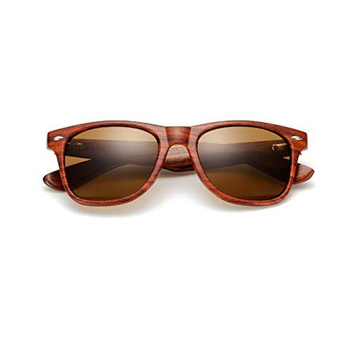 TIANZly Nussbaum Sonnenbrille Herren und Damen Spiegel Sonnenbrille Herren UV400 Holz Sonnenbrille Sonnenschirm Hohe Qualität
