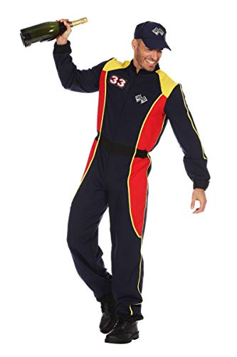 Wilbers Herren Kostüm Rennfahrer Overall Karneval Fasching Gr.58