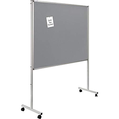 Legamaster 7-210600 Multiboard XL, 2 in 1: Whiteboard, Pinboard (grau) in einem, 195 x 126 x 50 cm