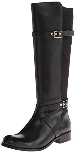 Cole Haan Women's Dorian Stretch Riding Boot,Black,6 B US