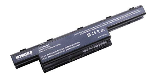 INTENSILO Li-Ion Akku 12000mAh (10.8V) für Laptop, Notebook Acer Aspire V3-771G, V3-471, V3-471G, V3-551, V3-571 wie Acer AS10D31.