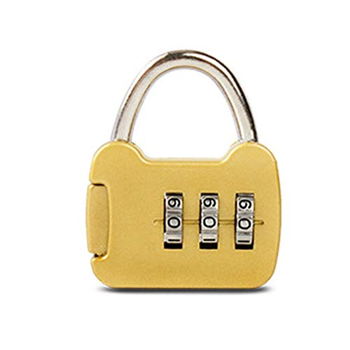 Mini 3 cijfercombinatie Password Lock Alloy veiligheidsslot kofferbagage Coded Lock Cabinet Locker hangslot