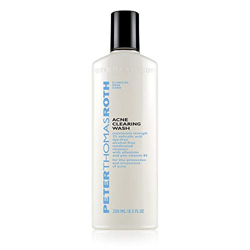 Peter Thomas Roth Acne Clearing Wash 2% Salicylic Acid, 8.5 Ounce Bouchon d'oreille 2 Centimeters Noir (Black)