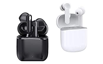 Wireless Earbuds,Otium Bluetooth Earbuds Hi-Fi Stereo Noise Cancelling Earphones 30H Playtime Bluetooth 5.0 Headphones Touch Control Waterproof Headset with Charging Case/Microphone